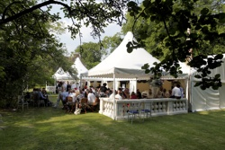 Henley Garden Party's Bird Place Enclosure