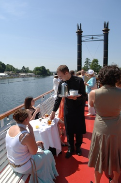 Menus supplied by Henley Hospitality for the Henley Royal Regatta