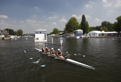 Henley Garden Party Regatta Racing